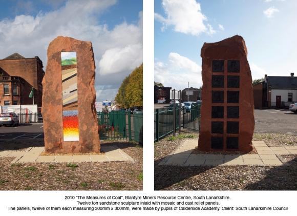 Alan Potter Blantyre sculpture