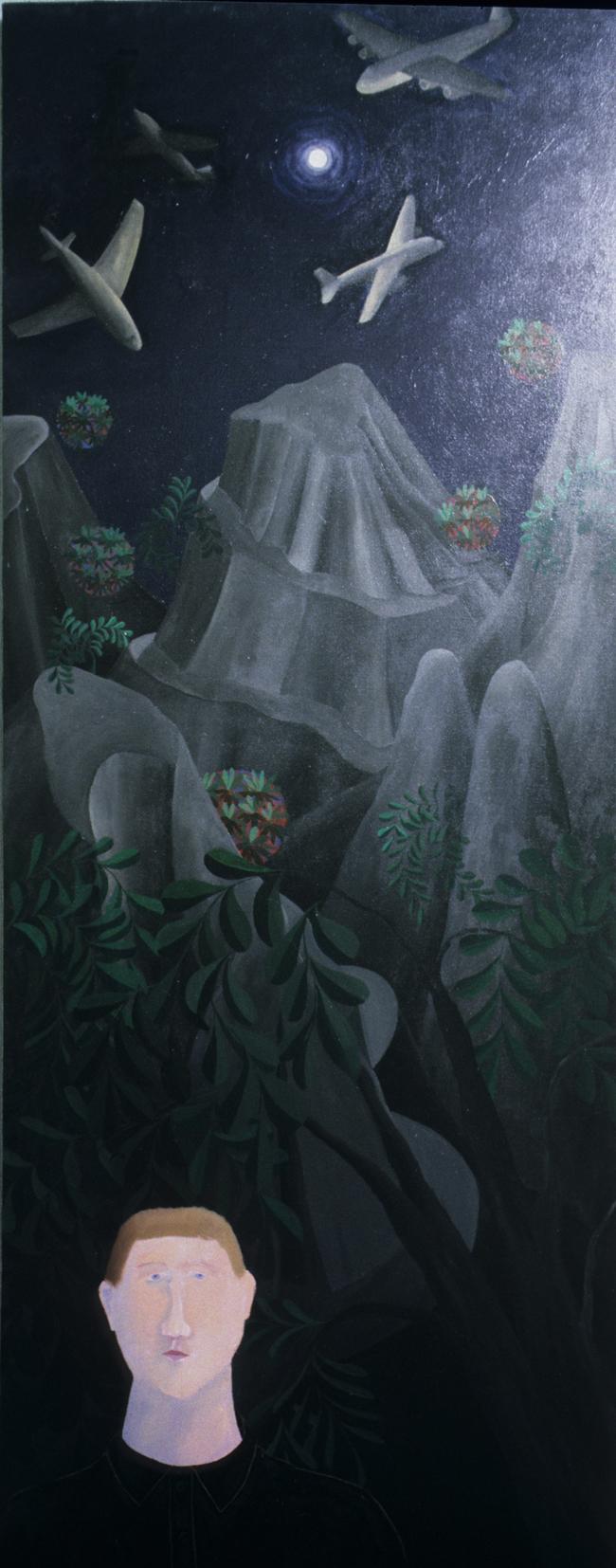 """Osterley Nights"" Acrylic on canvas"