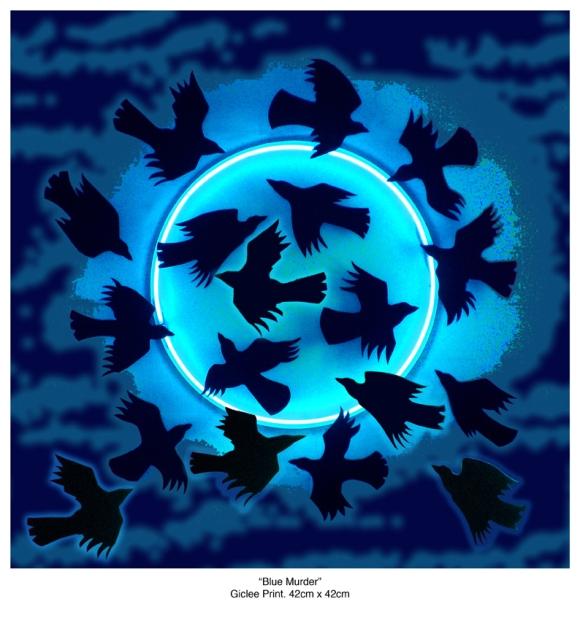 Alan Potter-Bluemurderprint