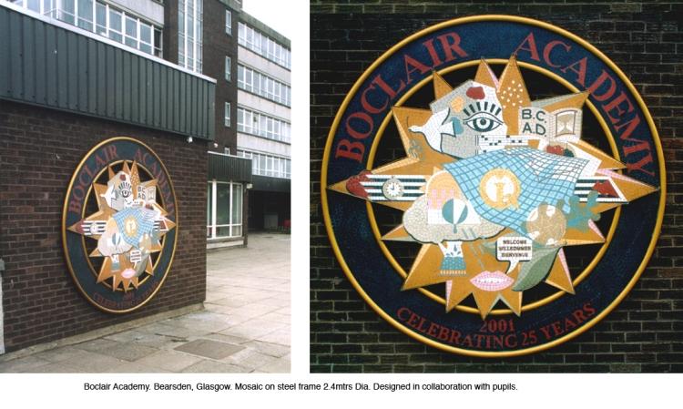 Alan Potter Boclair mosaic