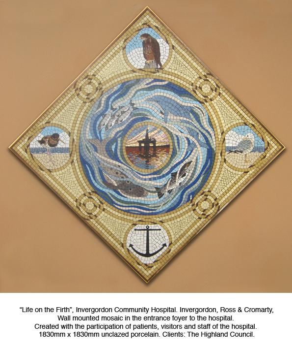 Alan Potter Invergordon mosaic