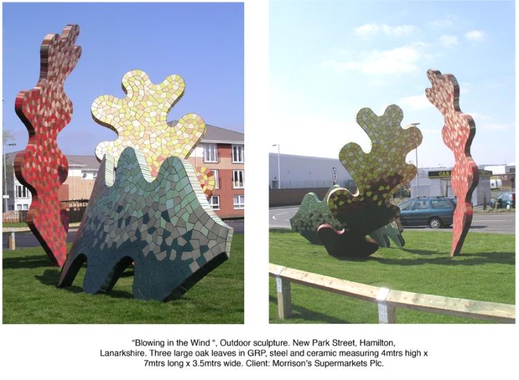 Alan Potter Morrisons sculpture