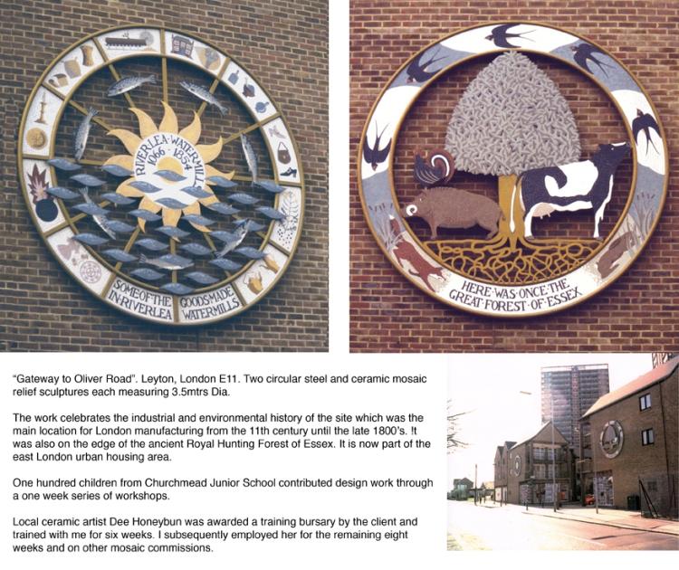 Alan Potter Oliver Rd. mosaic
